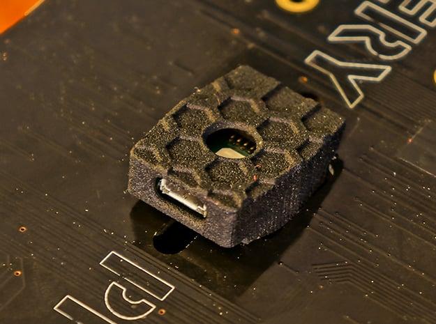 CUAV Pixhack I2C & USB/LED Board Cases in Black Natural Versatile Plastic