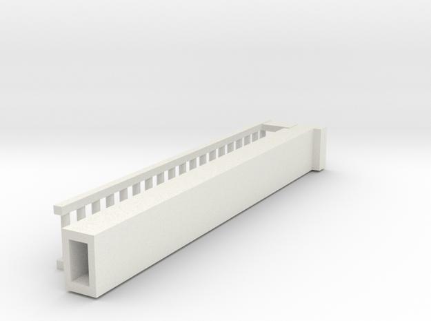 3 Of 4 Ladder in White Natural Versatile Plastic