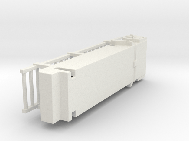 1 Of 4 Ladder in White Natural Versatile Plastic