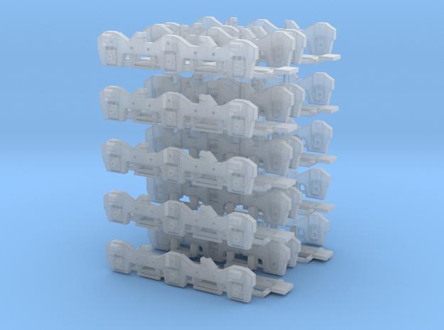 Flexicoil - Kato Early Prod. SD40-2 (Bulk) (N) in Smoothest Fine Detail Plastic