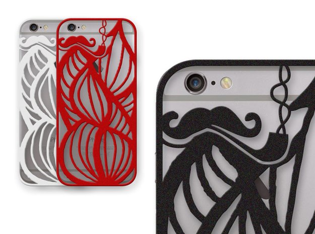 Hipsters Dream - case for iPhone 6 in Black Natural Versatile Plastic