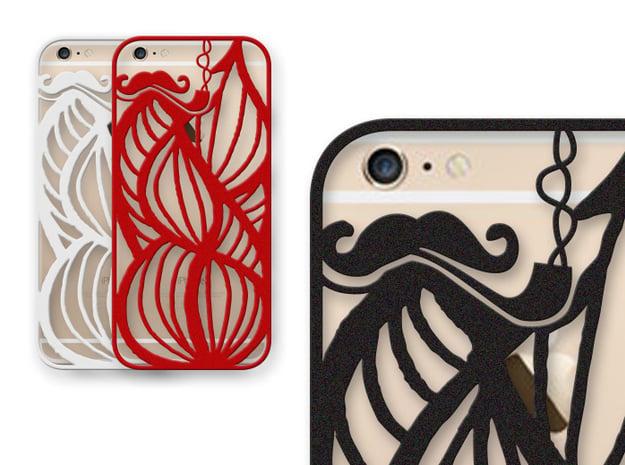 Hipsters Dream - case for iPhone 6 plus in Black Natural Versatile Plastic