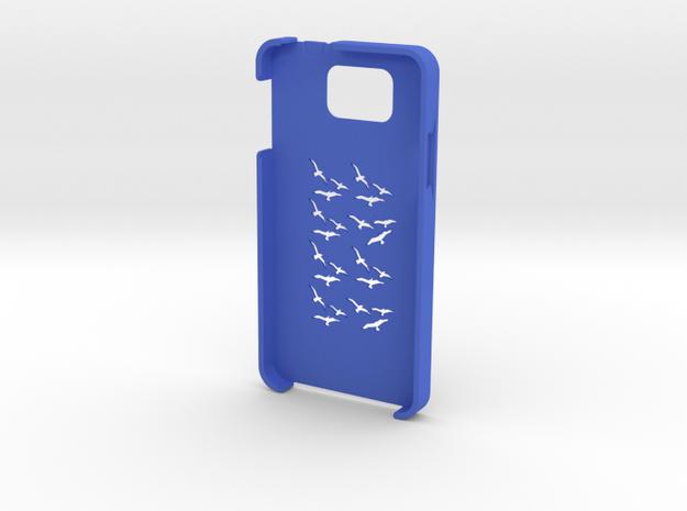 Samsung Galaxy Alpha Birds case in Blue Processed Versatile Plastic