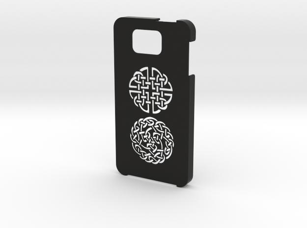 Samsung Galaxy Alpha Celtic case in Black Natural Versatile Plastic