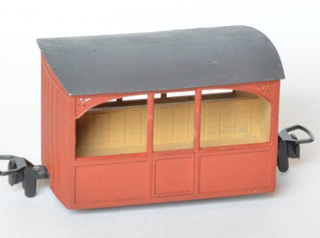 FR Bug Box Observation Saloon in Smooth Fine Detail Plastic