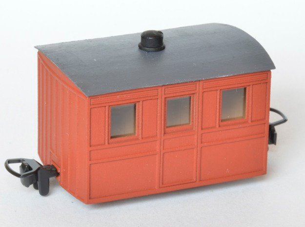 FR Bug Box THIRD in Smooth Fine Detail Plastic