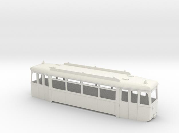 Verbandstyp II Beiwagen Wagenkasten Rhein-Neckar in White Natural Versatile Plastic