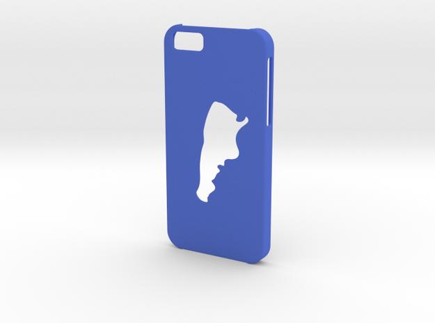 Iphone 6 Argentina case in Blue Processed Versatile Plastic