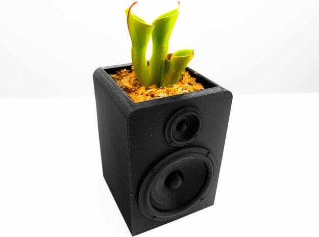 Speaker Planter in White Natural Versatile Plastic
