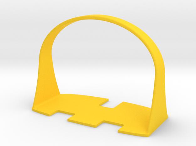 UK Plug Pull in Yellow Processed Versatile Plastic