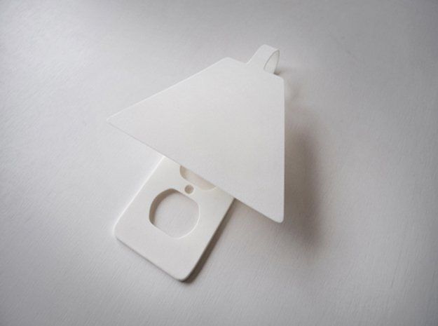 Out Lite in White Natural Versatile Plastic