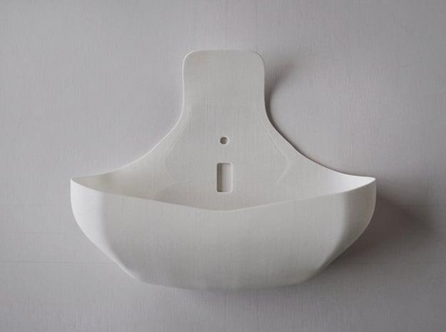 Switch Dish in White Natural Versatile Plastic