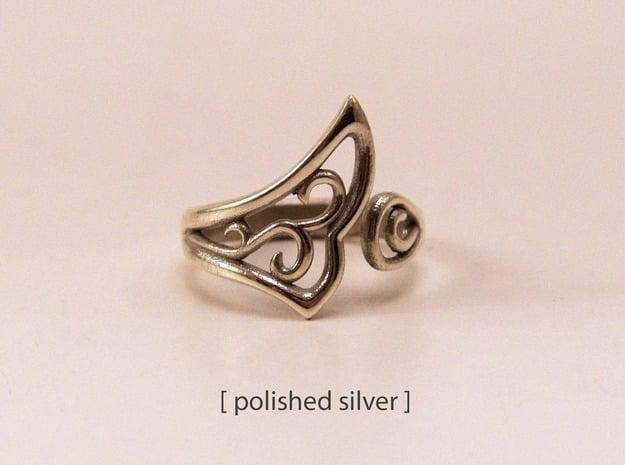 Kaya's Ring Variation in Natural Silver