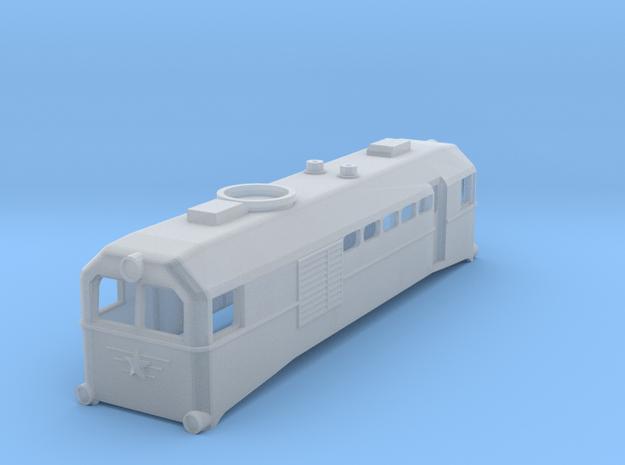 Russian TU2 TT Scale (1:120) in Smooth Fine Detail Plastic