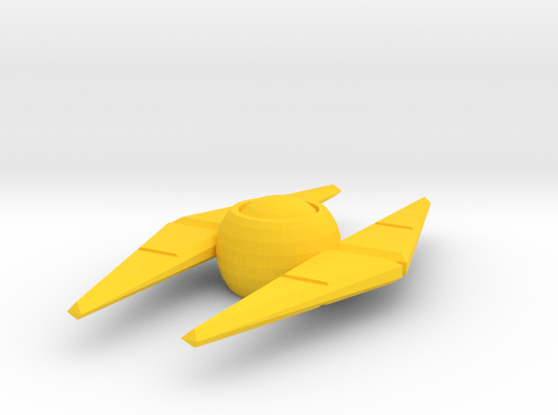 idw: Enigma for deluxe class in Yellow Processed Versatile Plastic