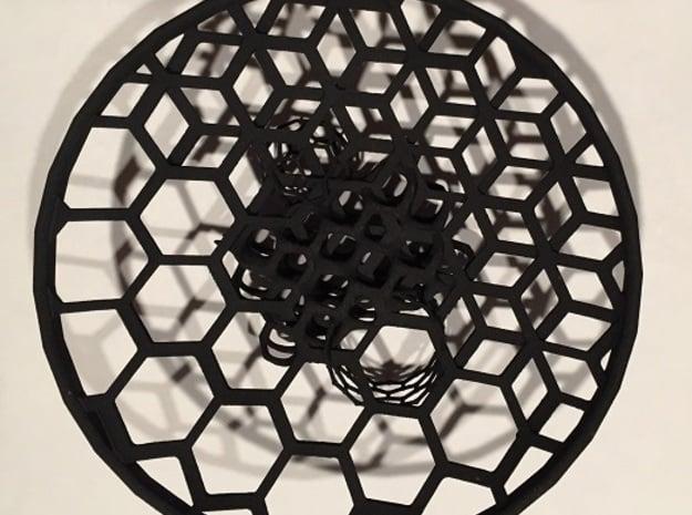 5 Allotrope Bowl in Black Natural Versatile Plastic