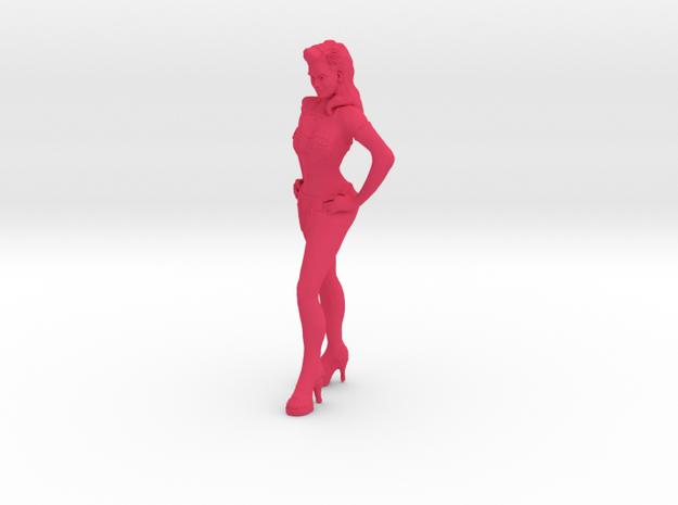 Showgirl #2 in Pink Processed Versatile Plastic