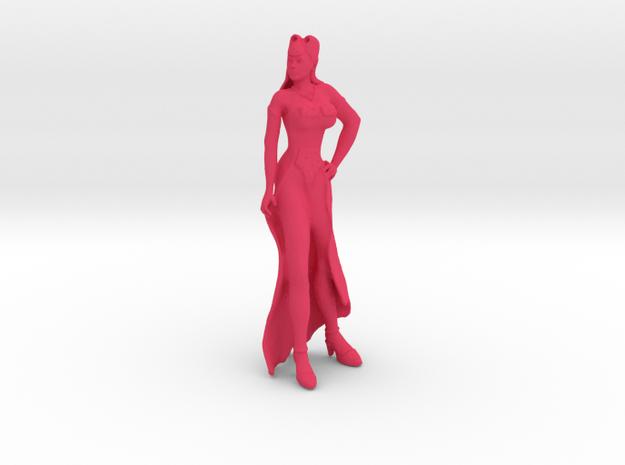 Showgirl #1 in Pink Processed Versatile Plastic