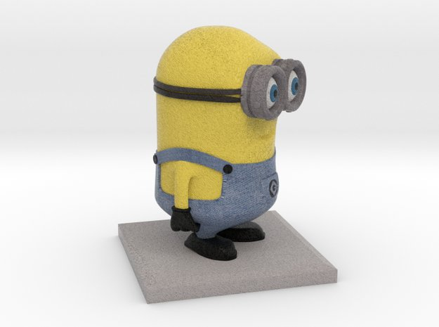 Minion Despicable me (4cm height) in Full Color Sandstone