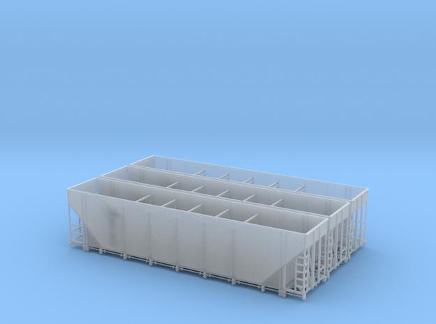 SEABOARD - Greenville 5400 cu ft HO 3 Pack in Smooth Fine Detail Plastic