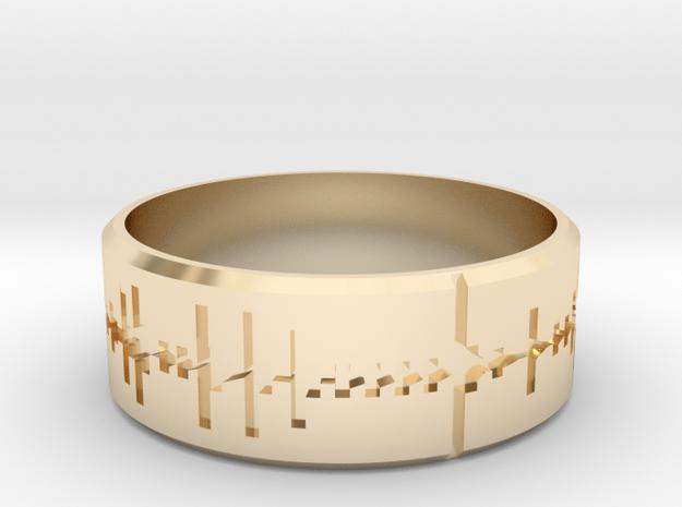 Amen, Brother - Amen Break Ring (size R 1/2)  in 14K Yellow Gold