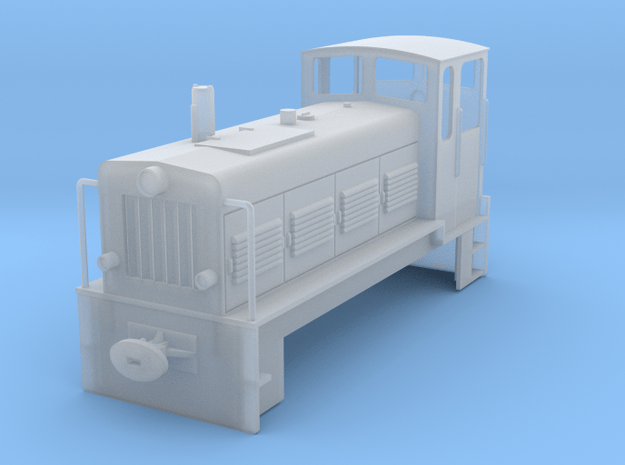 Ns 4 DR Chassis, Gehäuse Spur H0 in Smooth Fine Detail Plastic