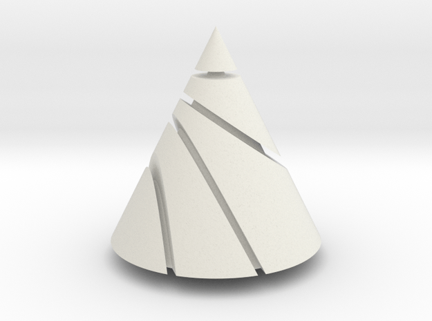Conic Sections in White Natural Versatile Plastic