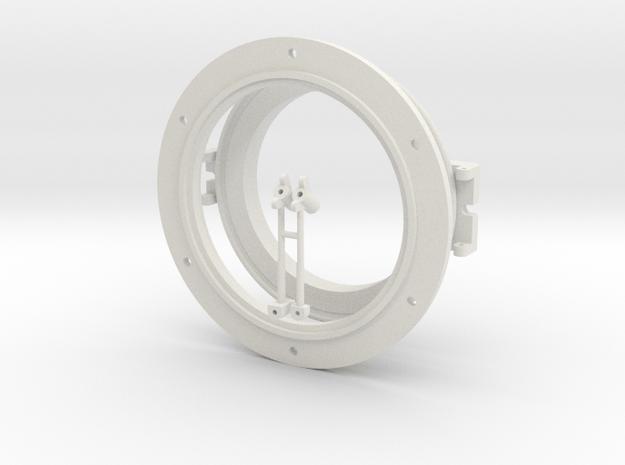 "Stones 9"" Headlamp (1/6th Scale) in White Natural Versatile Plastic"