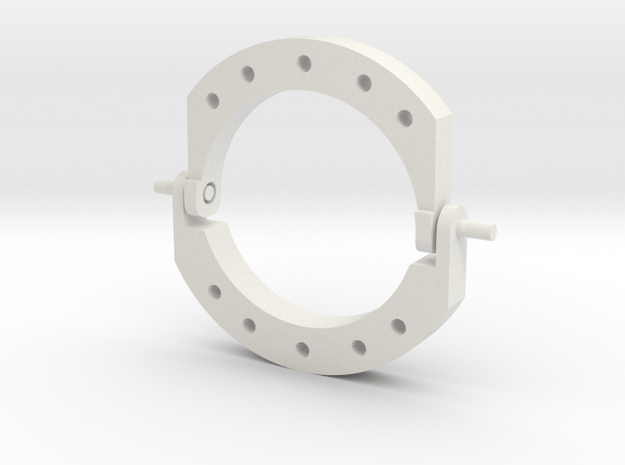 Replacement Eye Lids V1.5 in White Natural Versatile Plastic