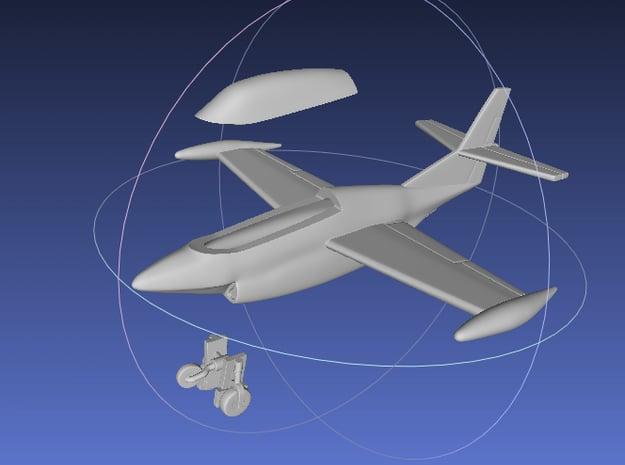 1/144 T-2 Buckeye in White Processed Versatile Plastic