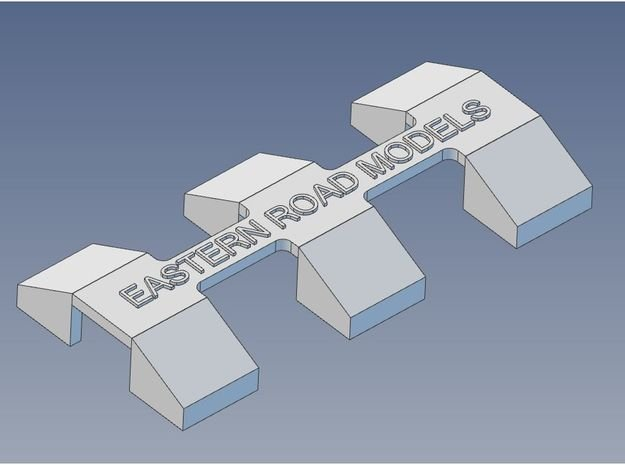 CP GP-7 GP-9 Pilot Blocks X 6 HO 7mm in Smooth Fine Detail Plastic