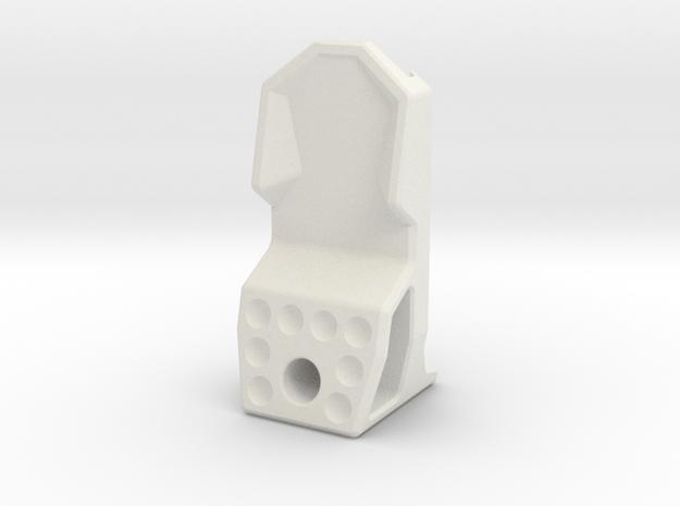 10-M-09 Type-EN-MP Engraved in White Natural Versatile Plastic