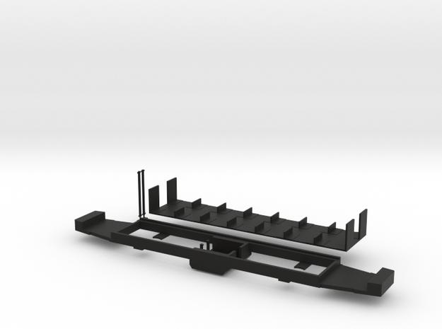 Fahrgestell Extertalbahn in Black Natural Versatile Plastic