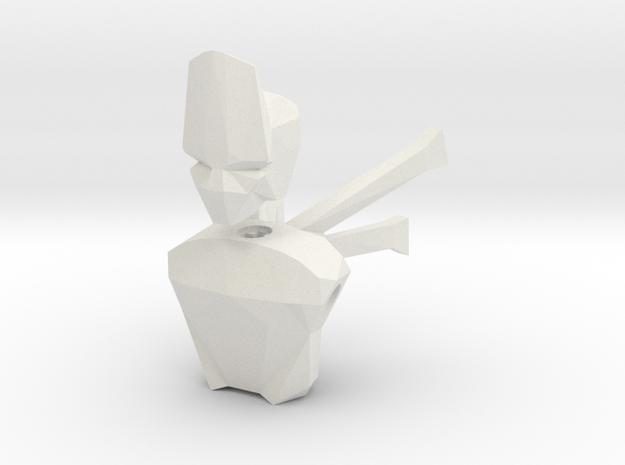 LoveLego: Clondo. in White Natural Versatile Plastic