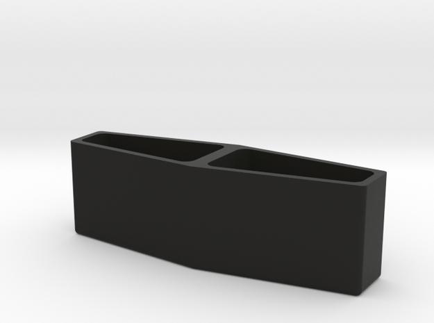 Torpedo Light Box in Black Natural Versatile Plastic