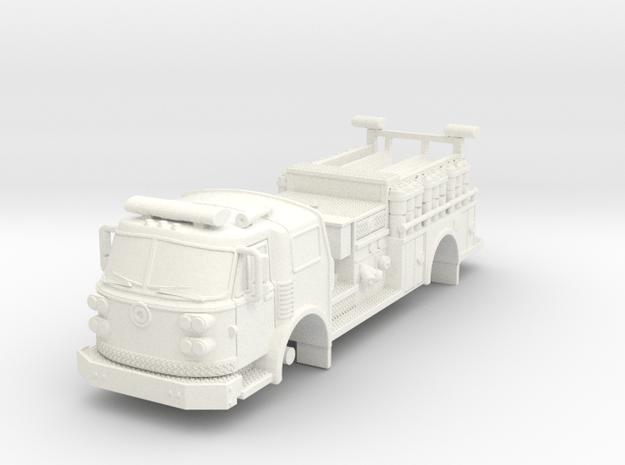 1/87 Super Pumper ALF sateilite body in White Processed Versatile Plastic