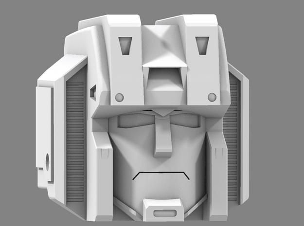 Masterpiece Seeker Basic Head V2 in White Processed Versatile Plastic