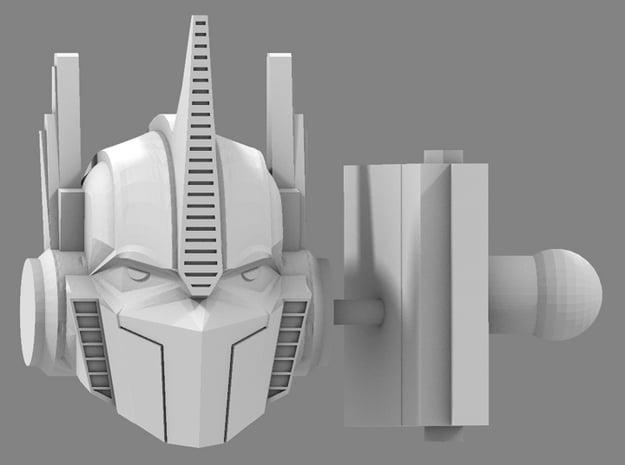 Hunting Beast OP Prime Head & Neck in White Processed Versatile Plastic