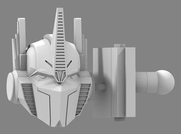 Hunting Beast OP Prime Head & Neck V2 in White Processed Versatile Plastic
