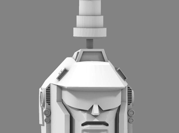 WingerBlitzer Head & Neck Upgrade in White Processed Versatile Plastic