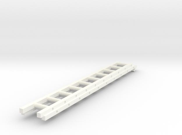 1/64 Ladder for FDNY Pumper Body V1 in White Processed Versatile Plastic