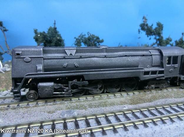 NZ120 NZR Ka (Steamlined) in Smooth Fine Detail Plastic