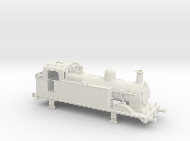 Ex Midland Rly 3F shunting engine in White Natural Versatile Plastic