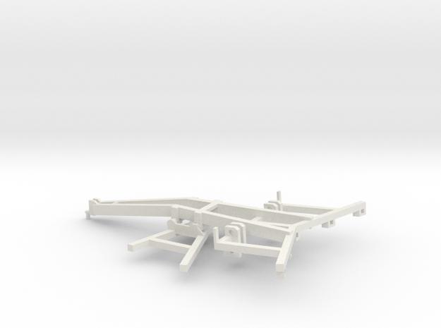 1/64 DMI Ecolo Tiger frame part I of kit in White Natural Versatile Plastic