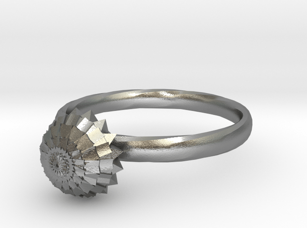New Ring Design  in Natural Silver