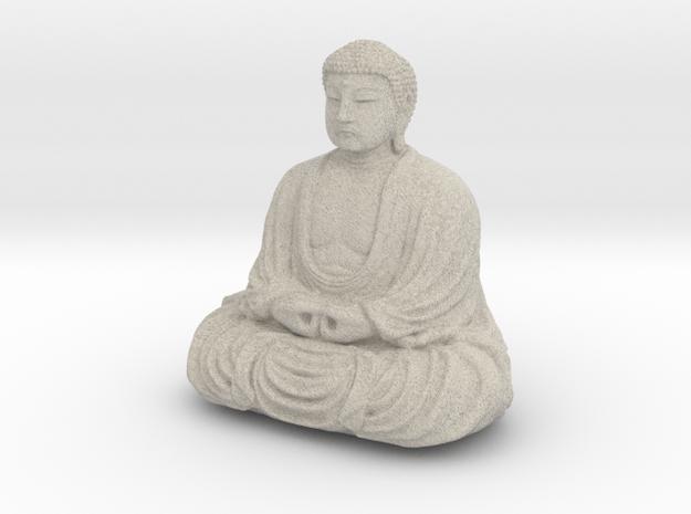 The Great Buddha At Kamakura, Japan in Natural Sandstone
