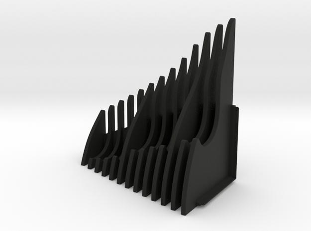Watch Display LEFT SIDE in Black Natural Versatile Plastic