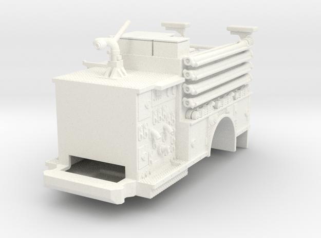 1/64 FDNY Pumper Body V1 in White Processed Versatile Plastic