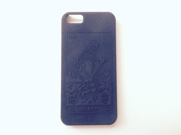 iPhone 6 Case - La Mort in Black Natural Versatile Plastic