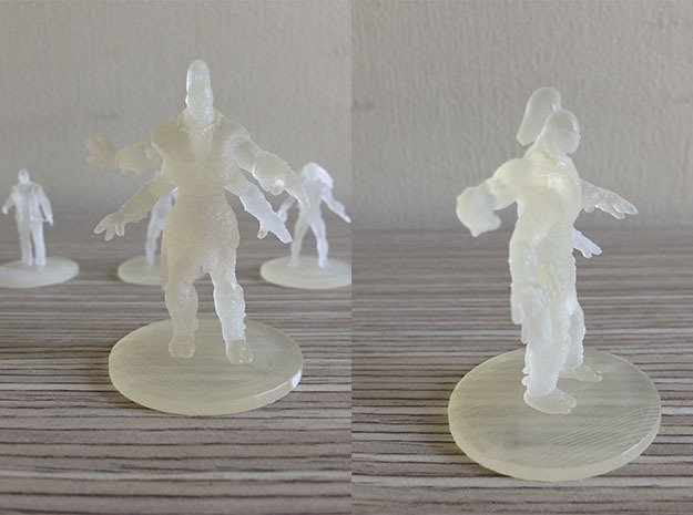 Goro MKX in Smooth Fine Detail Plastic